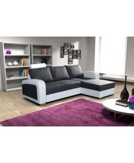 Canapé d'angle 3 à 4 places BONES