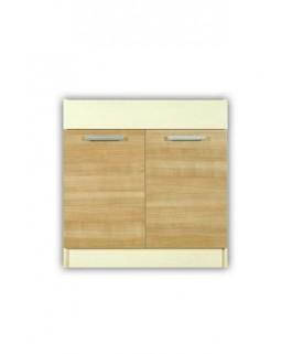 meuble cuisine bas sous vier 2 portes 90cm elise. Black Bedroom Furniture Sets. Home Design Ideas