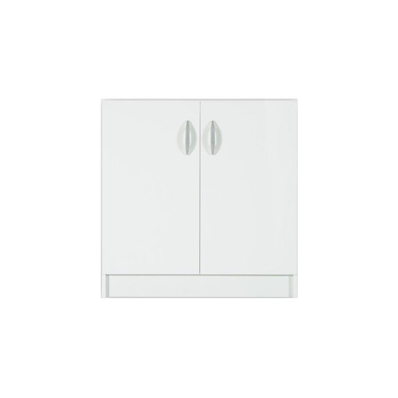 Élément bas 2 portes 60cm OXANE - blanc
