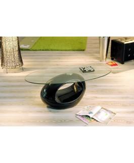 Table basse moderne en verre NIAGARA