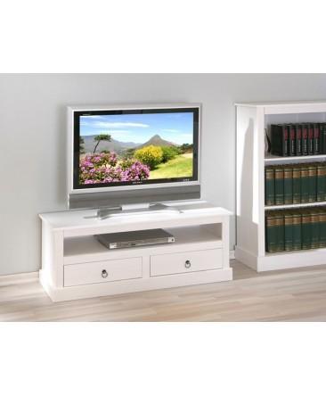 Meuble Tv Hifi Provenci En Bois Massif