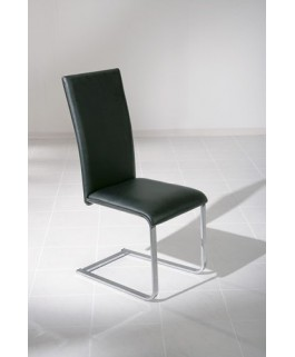 Chaise Moderne Noire DAKO