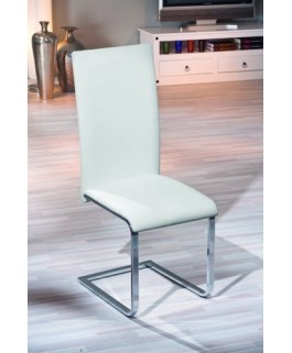 Chaise moderne blanche MONTANO