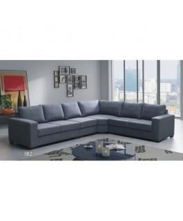 Canapé d'angle LILI gris