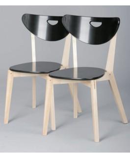 Lot de 2 chaises PEP