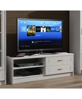 Meuble télé DINA blanc pas cher