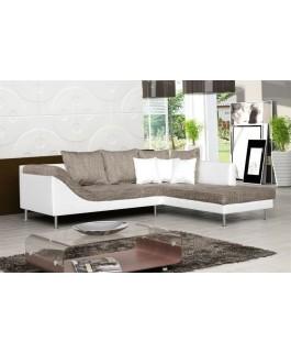 Canapé d'angle ARAGORN beige pas cher