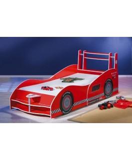 Lit enfant voiture formule 1 rouge