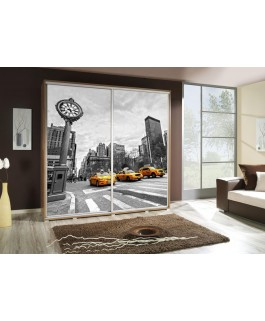 Armoire personnalisable 205 cm  taxi
