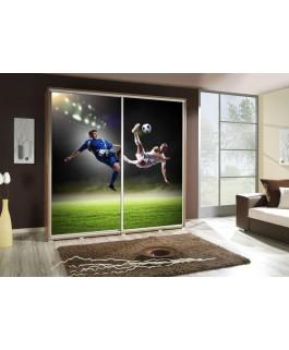 Armoire personnalisable penelop 205 cm football