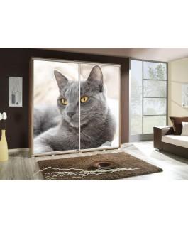 Armoire penelop imprimé chat