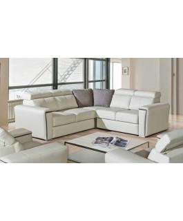 Canapé d'angle en cuir TROPIC 2a2