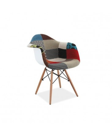Chaise Scandinave Patchwork DANI Inspiration Eames