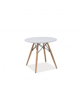 Table ronde scandinave SOHO inspiration Eames