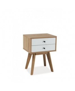 Commode SCANDIC avec 2 tiroirs style scandinave