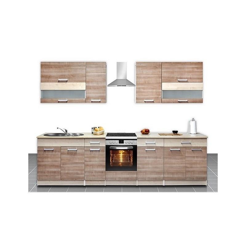 cuisine quip e de 2m60 elise. Black Bedroom Furniture Sets. Home Design Ideas