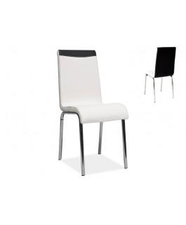 Chaise design ELIAS en simili-cuir