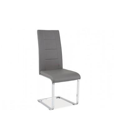 Chaise design JANYS  en simili-cuir
