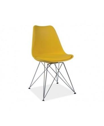 Chaise TIM style DSR avec pieds métal