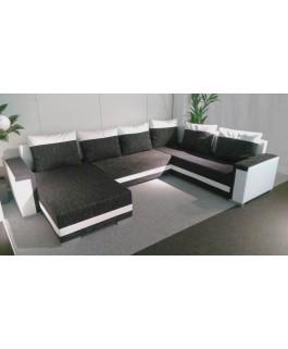 Canapé d'angle TINA convertible en U