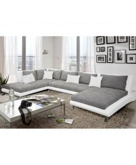 Canapé d'angle en U design CAYEN