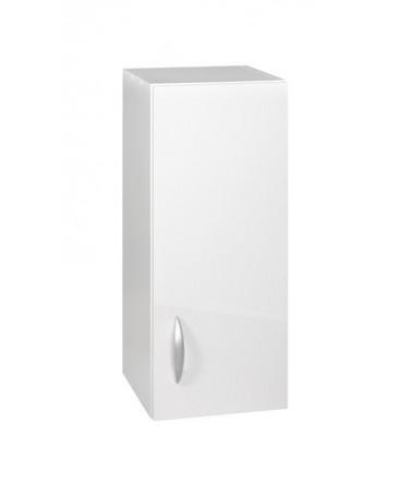 Meuble cuisine haut 1 porte 30cm OXANE blanc