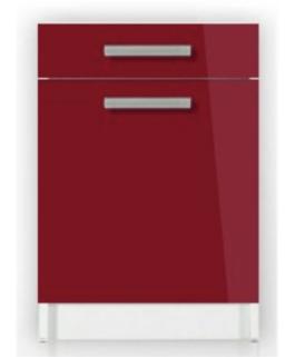 agrandissez en embellissez votre cuisine avec le meuble bas 1 porte 1 tiroir 60 cm tara