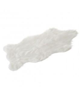 Tapis blanc SHEEPSKIN en...