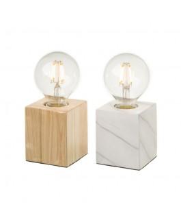 Lot de 2 lampes bi-matière...