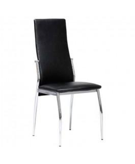 Chaise moderne noire VEGAS