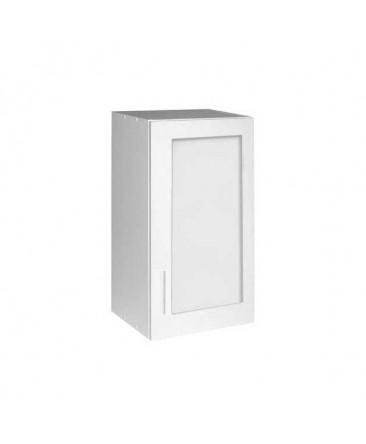 Élément haut 1 porte vitrine 40 cm TARA