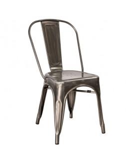Chaise industrielle LOFT métal