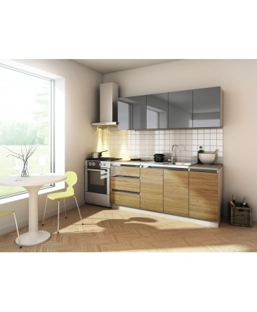 cuisine compl te stella 180cm. Black Bedroom Furniture Sets. Home Design Ideas
