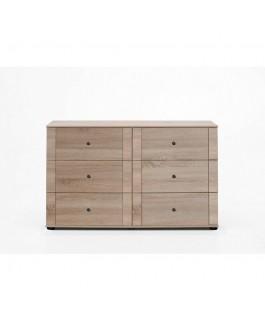 commode 6 tiroirs atypique pour ranger vêtements chalet 3