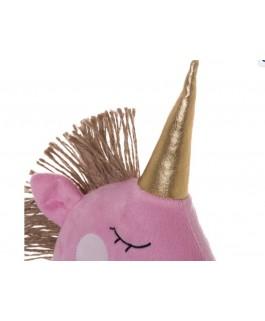 cales porte licorne x 2 en rose pastel et rose tissu et sable