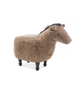 pouf poney 35 cm dorothée