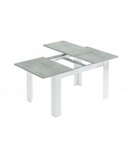 table extensible grise 140 à 190 cm kenda