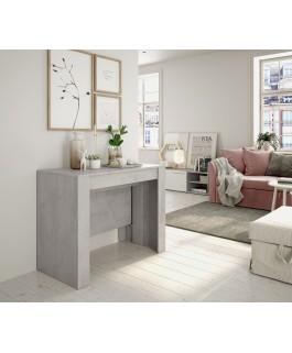 table avec rallonge ALGA gris