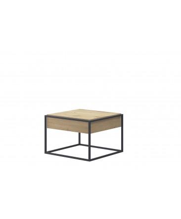 table basse moderne bois/métal enjoy