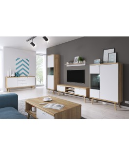 meuble TV 160 cm scandinave primo