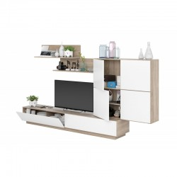 ensemble de meuble TV blanc lou