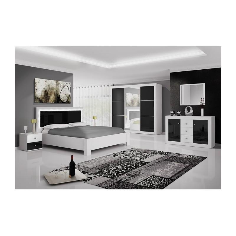 Chambre complète ROMA design avec LED