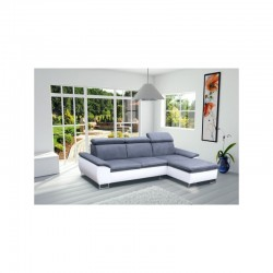 Canapé d'angle 4 places microfibre CAYENNE