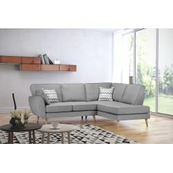 Canapé d'angle scandinave ZARI
