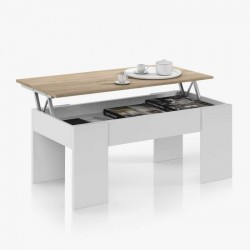 CENDA Table Basse Blanc...