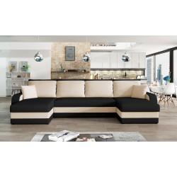 Canapé panoramique en U CHRIS