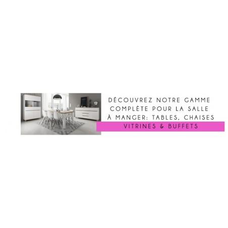 Gamme complète de meubles pour salle à manger, modernes et tendance