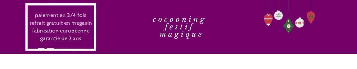 cocooning festif magique canapés chez meublesline.com